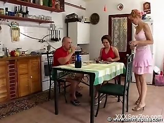 Home porn with zoophilia scenes for naked babes and a horny man