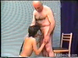Japanese filmed when deep fucked and made to suck